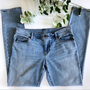 Loft Relaxed Skinny Jeans Light Wash Size 27/4